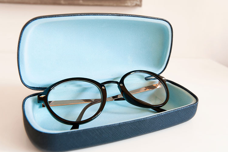 glasses in case